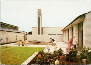 Garden Court Royal Masonic Institution Porthcawl South Wales UNUSED Postcard D91