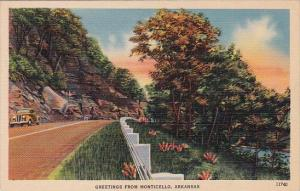 Greetings From Monticello Arkansas 1944