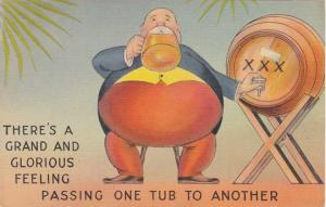 Passing One Tub to Another - Humor - Linen