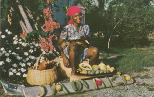 JAMAICA , B.W.I. , 1961 ; Say it with fruit!