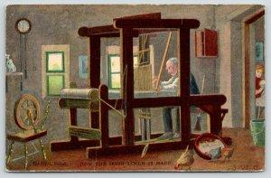 St Joseph MO~Townsend & Wyatt Dry Goods~Annual Linen Sale~Irish Loom~Feb 7 1906
