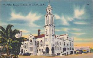 Florida Miami The White Temple Methodist Church
