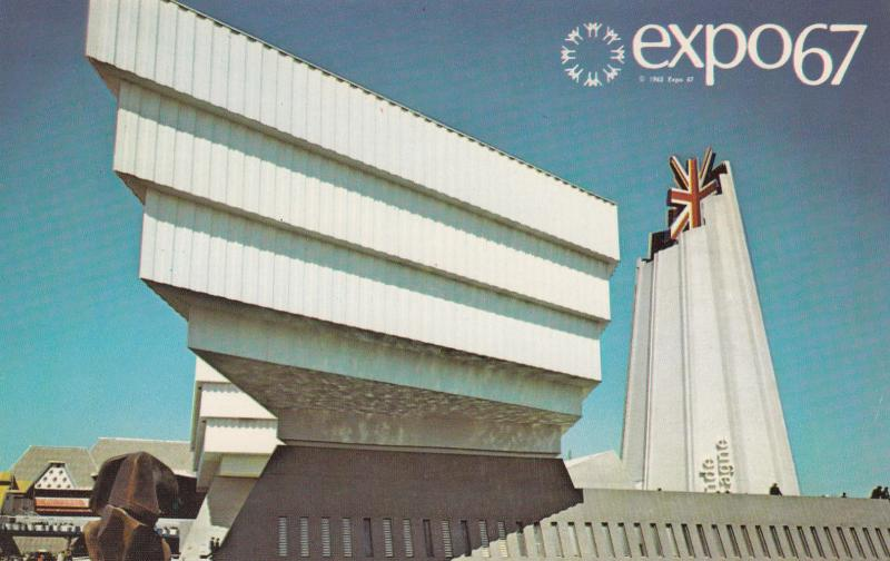 MONTREAL , Quebec, Canada, EXPO67 ; Great Britain Pavilion # 2