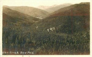 1940s Red River New Mexico RPPC Photo Postcard 11022