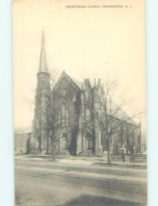 Unused Divided-Back CHURCH SCENE Pennington - Near Princeton & Trenton NJ A8440