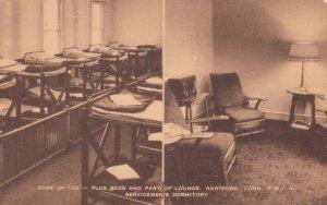 HARTFORD , Conn. , 1930s ; YMCA , Lounge