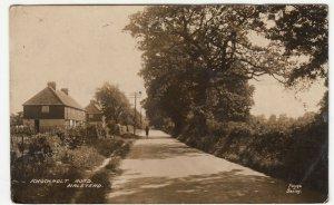 Essex; Knockholt Road, Halstead RP PPC By Payne, 1935 PMK