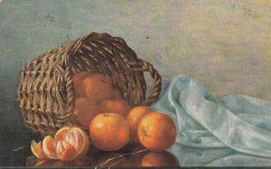 STILL LIFE, PU-1912; Oranges