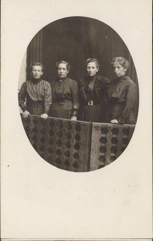 Group of women family portrait social history