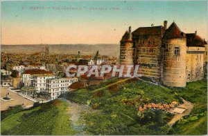 Old Postcard Dieppe General view