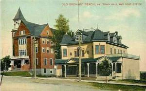 ME, Old Orchard Beach, Maine, Town Hall & Post Office, Mason Brothers