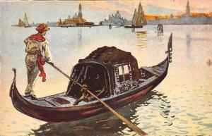 Italy Venezia La Gondola, Die Gondel, Boat