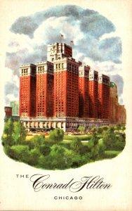 Illinois Chicago The Conrad Hilton Hotel