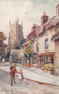 SIDMOUTH , Devon , England , 00-10s; The Parish Church, TUCK # 7014