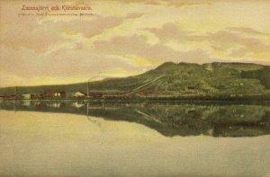 sweden, KIRUNA, Luossajärvi och Kiirunavaara (1911) Postcard