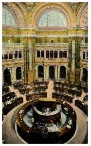 1910's Library Of Congress Rotunda Washington D.C. PC1985