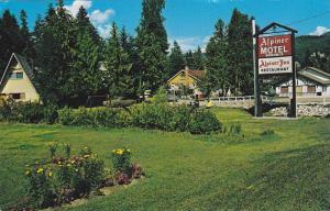 Exterior of the Alpiner Motel and Inn, Sicamous, British Columbia, Canada, 40...
