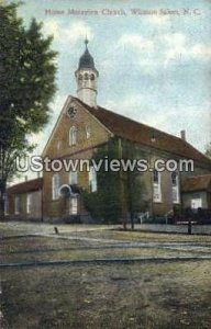 Home Moravian Church in Winston-Salem, North Carolina