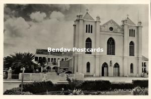 curacao, N.A., Roman Catholic Church (1950s) RPPC