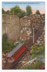 Incline Railroad Lookout Mountain Chattanooga Tennessee postcard