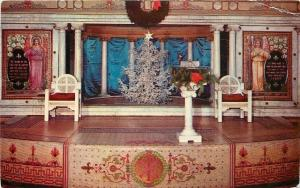 Buffalo NY Minister Zearfoos~Decorated for Christmas~Delaware Ave Baptist~1950s