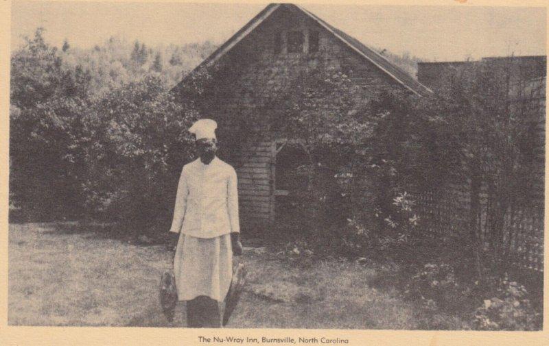 BURNSVILLE , North Carolina , 1930s ; Black Chef , The Nu-Wray Inn