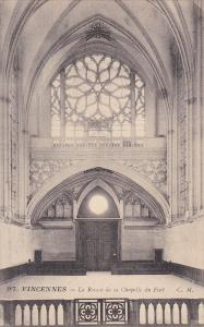 La Rosace De La Chapelle Du Fort, VINCENNES (Val de Marne), France, 1900-1910s