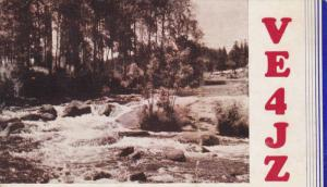 Amateuar Radio - VE4JZ, Sifton, Manitoba, Canada, PU-1950