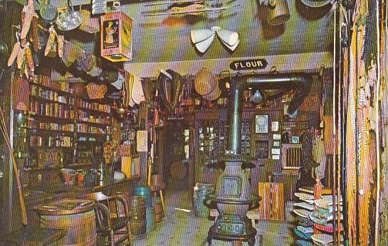 Interior Of General Store Circa 1840 Shelburne Museum Shelburne Vermont