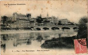 CPA PAU Vue Panoramique Pont de Jurancon (126581)
