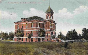 Court House Pocatello Idaho 1912 postcard