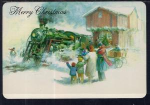 Merry Christmas Train BIN