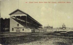Grand Stand, Maine State Fair Ground Lewiston ME Unused