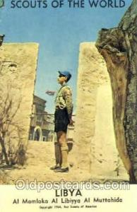 Scouts Of The World, Libya Scout Scouting Postcard Postcards Unused