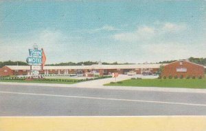 North Carolina Greensboros Newest Travel Inn Motel Albertype