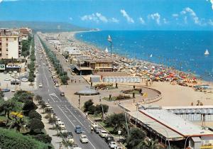 Italy Pescara la Riviera Beach Auto Vintage Cars Promenade
