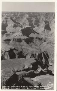 RP: GRAND CANYON NATIONAL PARK, Arizona,1920-40s; Canyon from Yavapai Point
