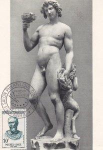 MICHEL-ANGE , Stamp & Postcard , 1957