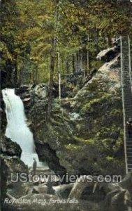 Forbes Falls - Royalston, Massachusetts MA