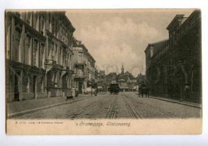 172424 NETHERLANDS Gravenhage Stationsweg Vintage postcard