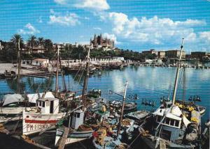 Spain Palma De Mallorca Detalle del puerto