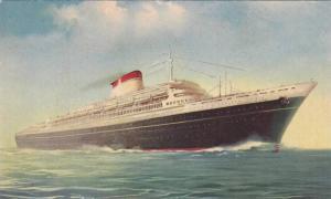 Steamer/Ship, T/N Leonardo Da Vinci, Linea Espresso Mediterraneo- Nord Amer...