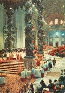 Europe Italy postcard Citta del Vaticano cathedral San Pietro