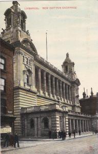 TUCK #4757; LIVERPOOL , England , 00-10s ; New Cotton Exchange