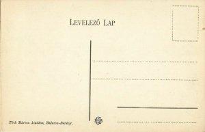 hungary, BALATONBERÉNY, Fürdö, Fö-Utca, Main Street (1910s) Postcard