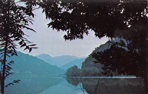 Glen Ferris West Virginia~Kanawha River Scenery on US Route 60~1960s Postcard