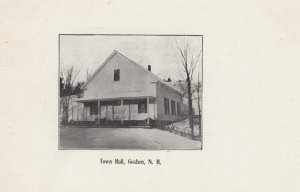 GOSHEN , New Hampshire , 00-10s ; Town Hall