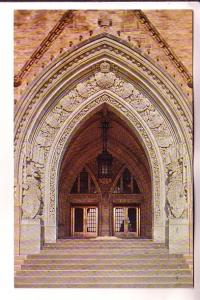 Main Entrance to Peace Tower, Canadian House of Parliament, Ottawa, Ontario