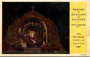 New York New Lebanon Shrine Of Our Lady Of Lourdes