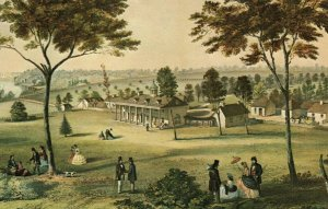Mount Vernon,VA lithograph